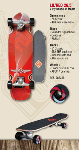 FLYING WHEELS LIL´RED 26,5´´