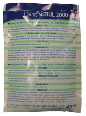 BACTERICIDA 50 ml. (JABÓN F)