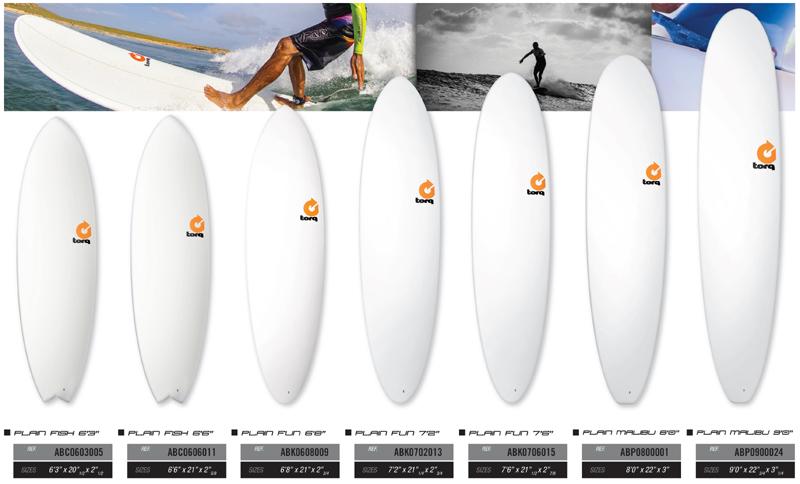 TORQ SURFBOARDS PLAIN