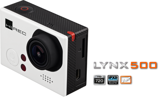 CÁMARA ACCIÓN LYNX500