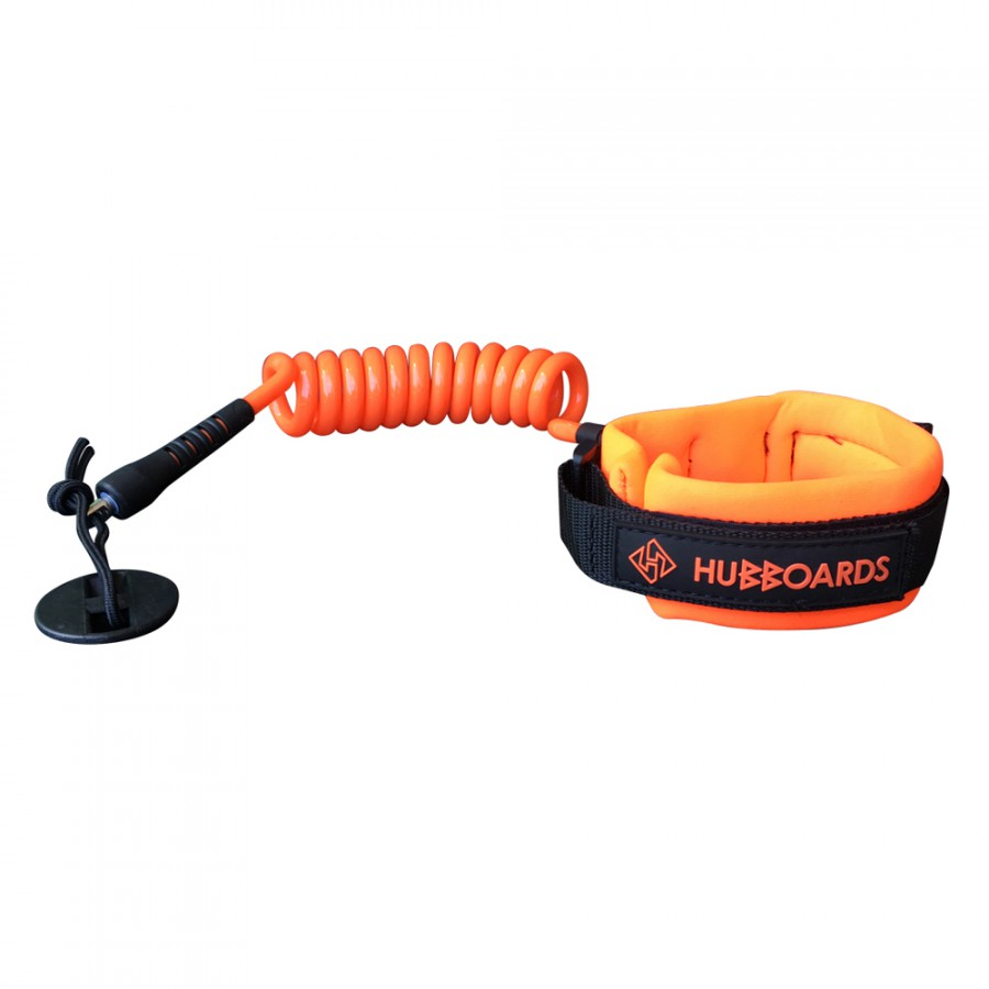 Hubboards-BicepLeash-ORANGE