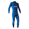 TRAJE DE SURF NEOPRENO INTEGRAL KYNAY 5/4/3 FRONT ZIP BLUE BLACK