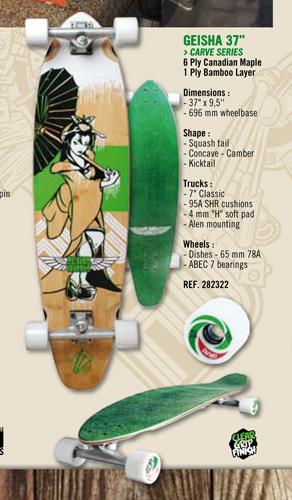 GEISA 37″ CARVE SERIES - Skates