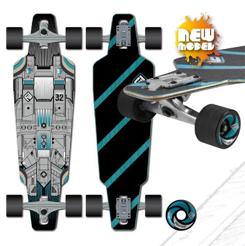 FLYING WHEELS STAR SHIP 32″ - Skates