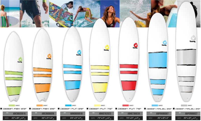 TORQ SURFBOARDS PLAIN DESIGN