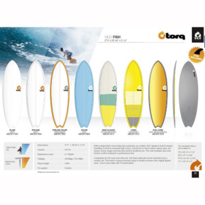 TORQ TET SURFBOARDS  MODELO FISH