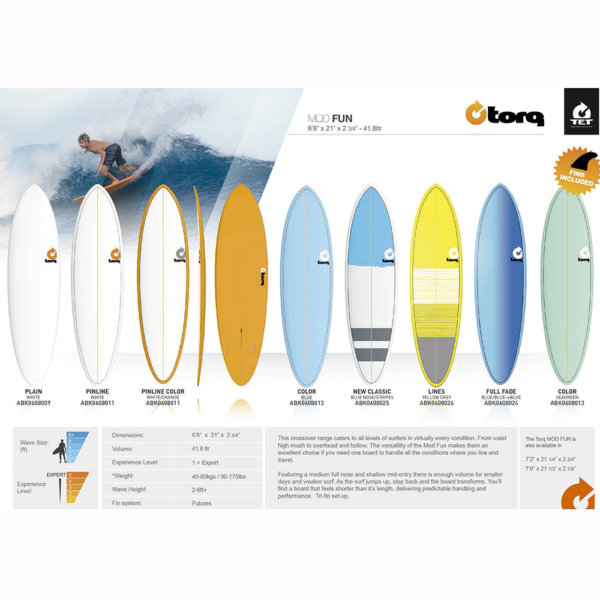 TORQ TET SURFBOARDS  MODELO FUN - Tablas de Surf