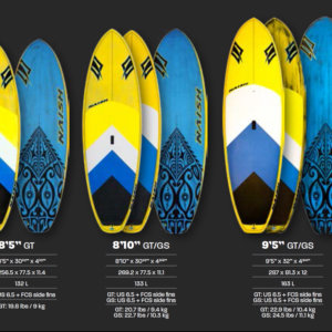 MANA SERIES GT SUP BOARDS