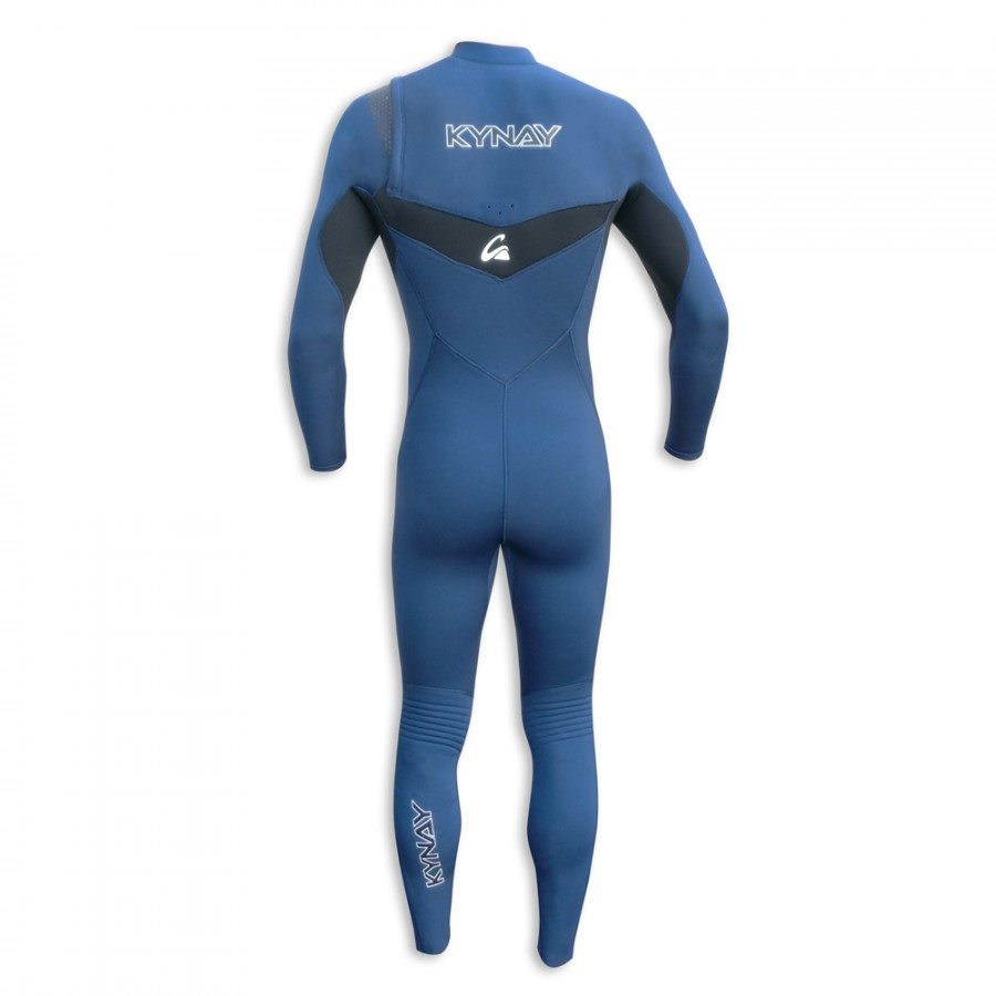 TRAJE DE SURF NEOPRENO INTEGRAL KYNAY 5/4/3 FRONT ZIP BLUE