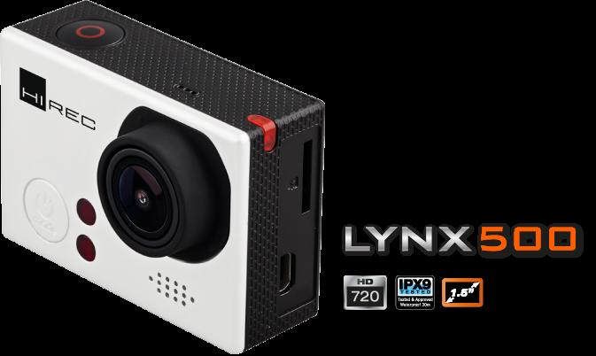 CÁMARA ACCIÓN LYNX500 - Accesorios de bodyboard