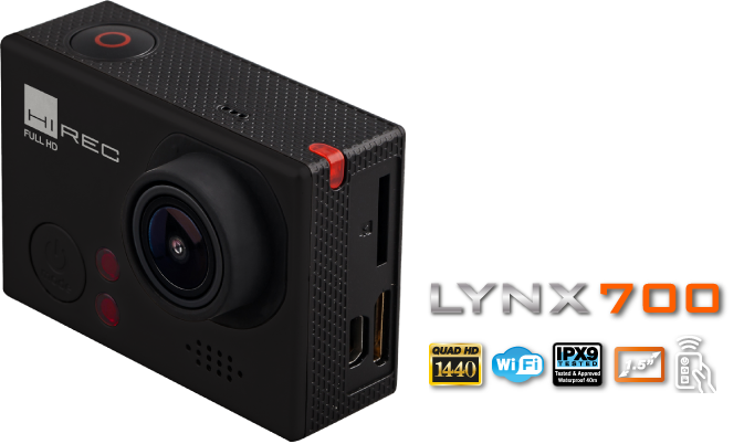 CÁMARA ACCIÓN LYNX700 - Categoría Test