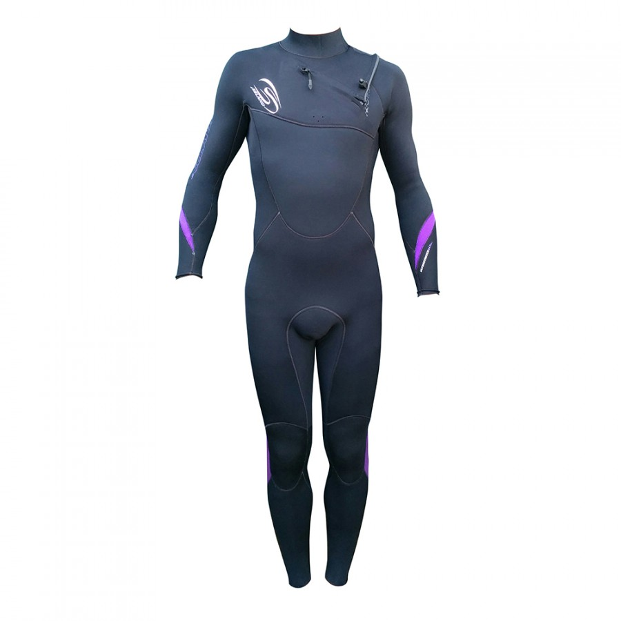 TRAJE DE SURF NEOPRENO INTEGRAL 5/4/3 QUICK DRY FRONT ZIP NG/MO NOJA - OUTLET BODYBOARD