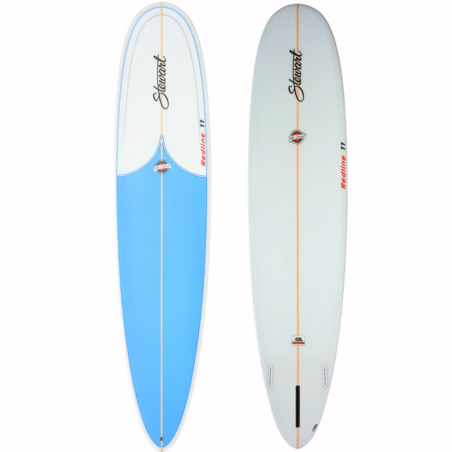 "STEWART REDLINE 11  9′ 0"" BLUE SPRAY"