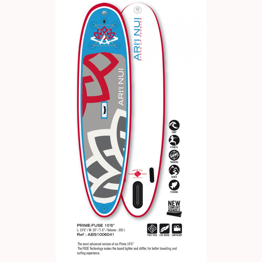 "ARI´I NUI SUP INFLABLE PRIME FUSE 10´6"" - Tablas de stand up paddle - SUP"