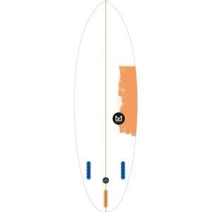 "TABLA DE SURF MAHALO KAILANI 5′ 8"" HYBRID"