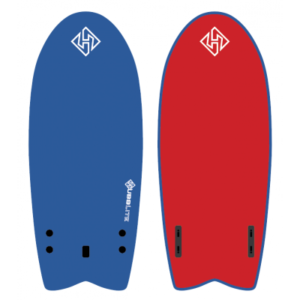 SOFTBOARD HUBB LITE TWIN FISH 5,4′