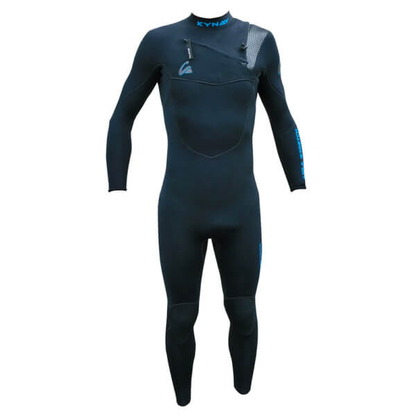 NUEVO NEOPRENO INTEGRAL KYNAY 3/2 BLACK/BLUE - Neoprenos para surf