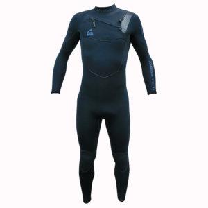 TRAJE DE SURF NEOPRENO INTEGRAL KYNAY 5/4/3 FRONT ZIP azul