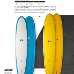 TABLA DE SURF TAKAYAMA BEACH BREAK TUFLITE PC LONGBOARD