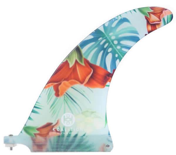 QUILLA KOALITON SINGLE FIN ALOHA SPIRIT - Quillas para tablas de surf y Parafina