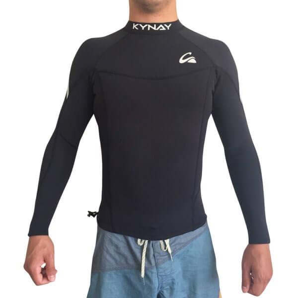 NEOPRENO SURF CHAQUETILLA KYNAY BLACK - Chaquetillas / Licras