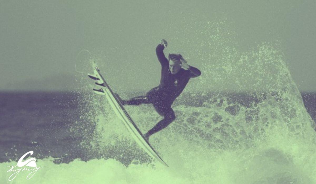 Surf con escarpines
